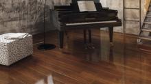 Design Kaindl Creative Glossy P80080 Doussie BRILLO, 8.0, Премиум доска, Зеркальный блеск (HG) на Floorlab.ru