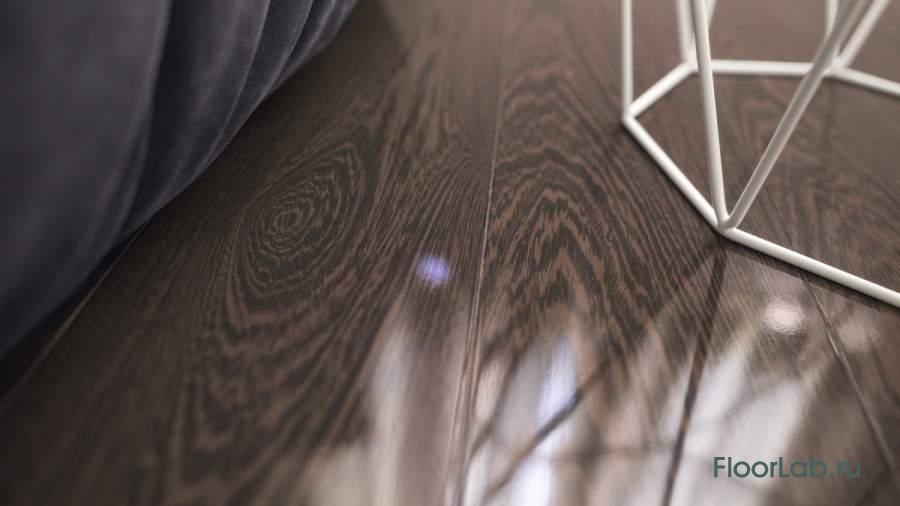 Design Kaindl Creative Glossy P80090 Wenge PEARL, 8.0, Премиум доска, Зеркальный блеск (HG) на Floorlab.ru